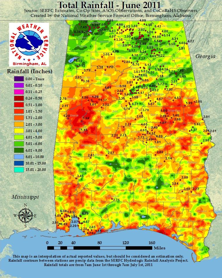 The Alabama Climate Report